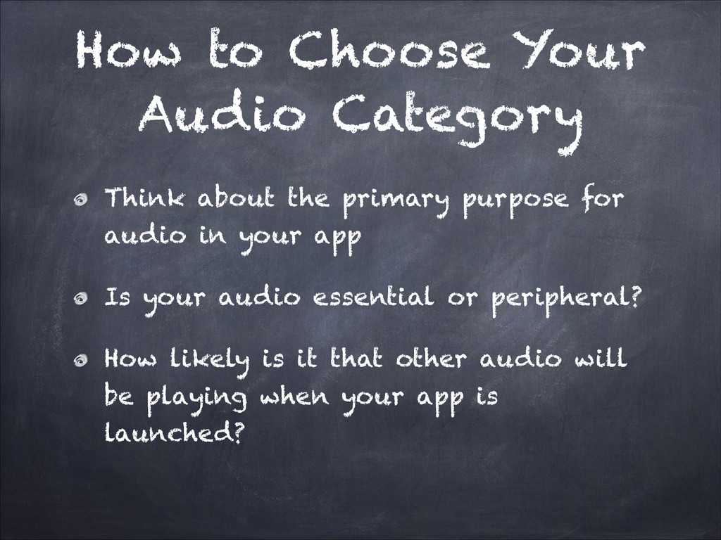 How to Choose Your Audio Category Think about t...