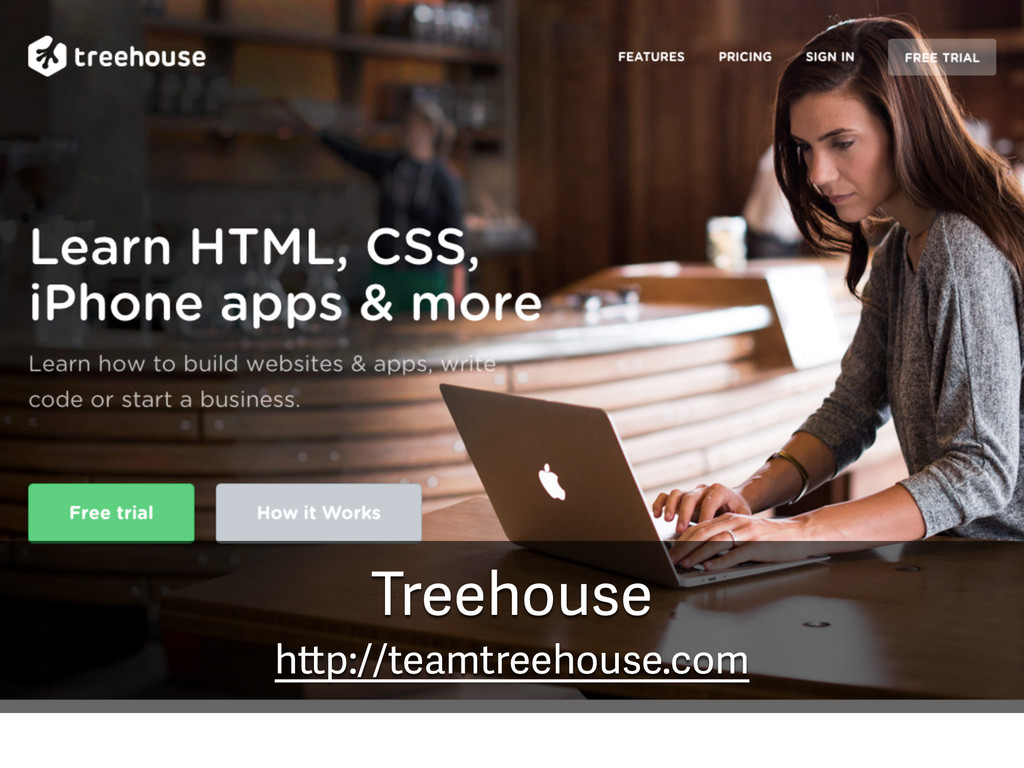 Treehouse http://teamtreehouse.com