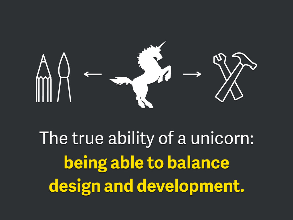 The true ability of a unicorn: 