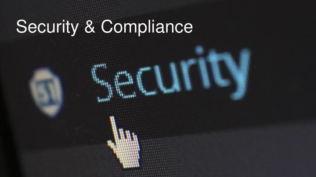 Warum in die Cloud? Security & Compliance