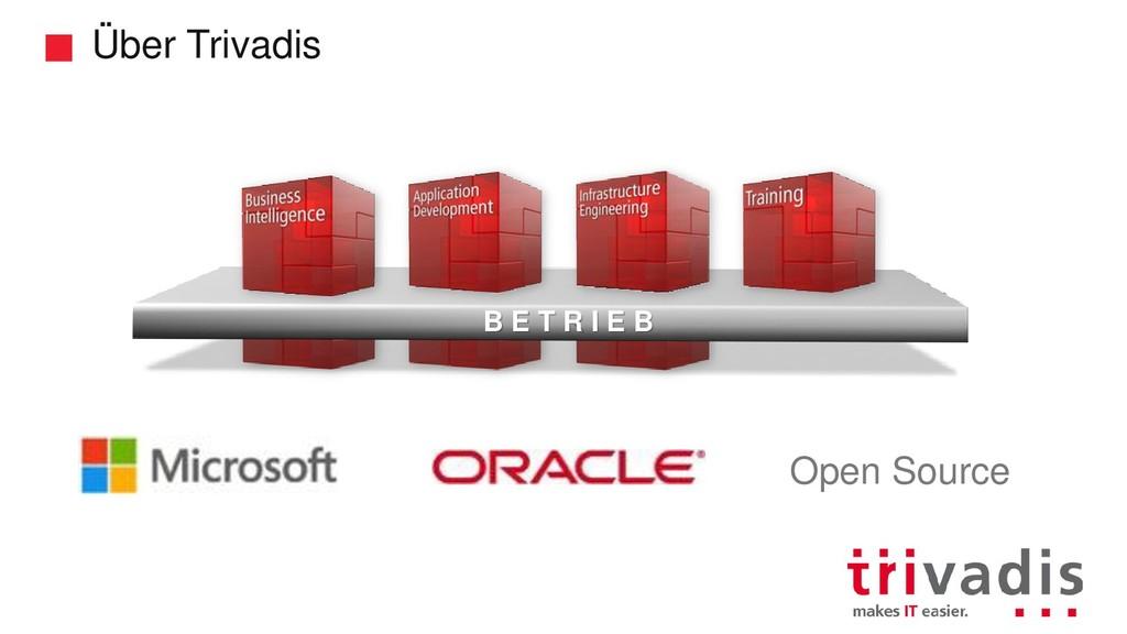 Über Trivadis B E T R I E B Open Source