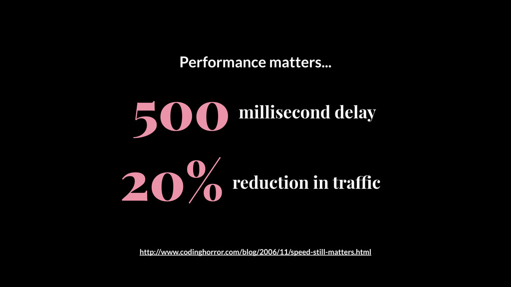 """millisecond delay 500 reduction in tra""""c 20% Pe..."""