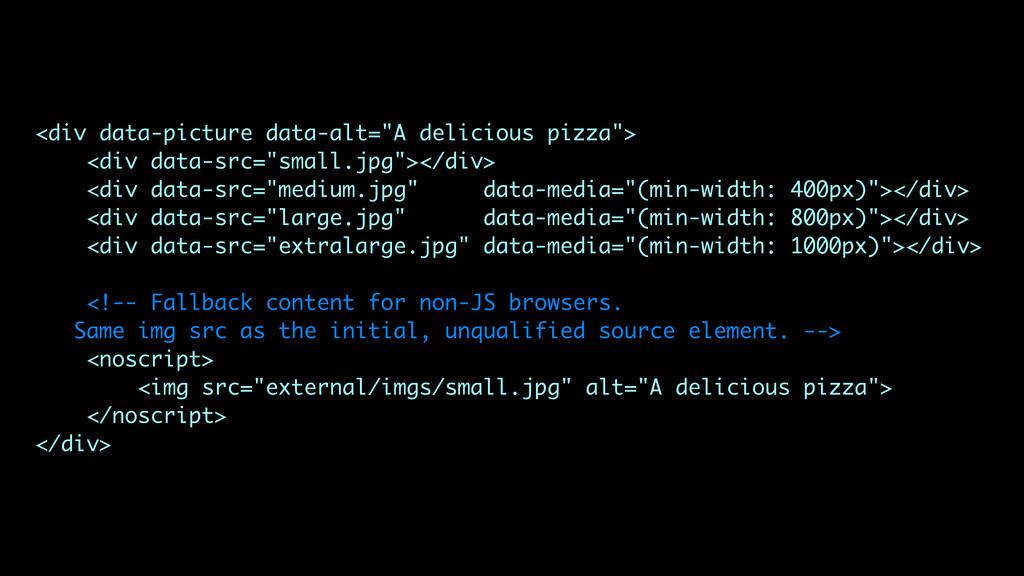 "<div data-picture data-alt=""A delicious pizza"">..."
