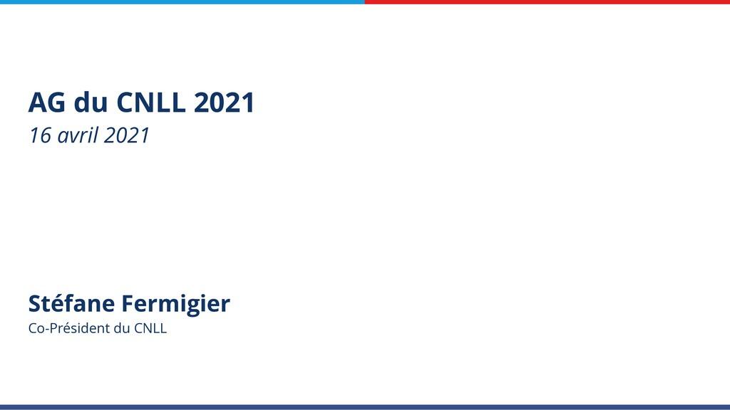 Stéfane Fermigier Co-Président du CNLL AG du CN...