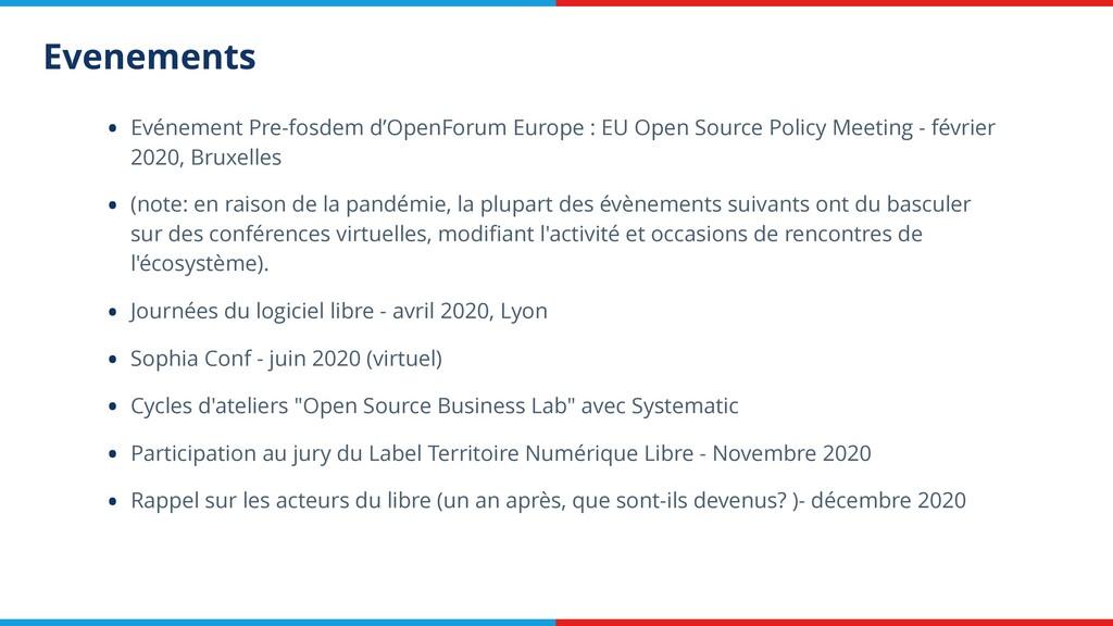 Evenements • Evénement Pre-fosdem d'OpenForum E...