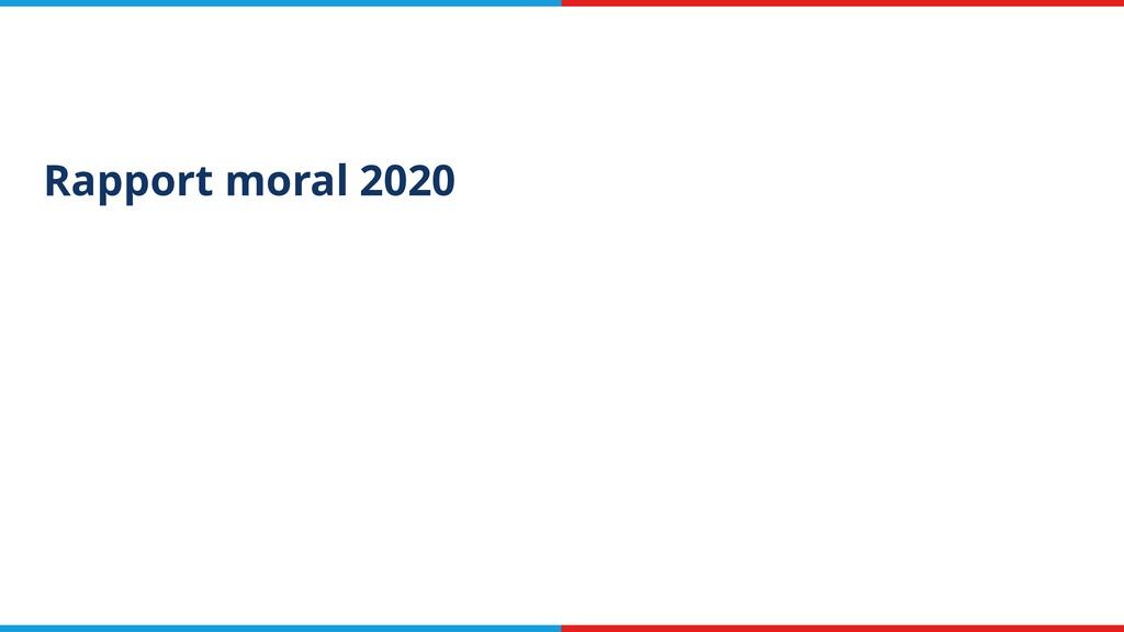 Rapport moral 2020