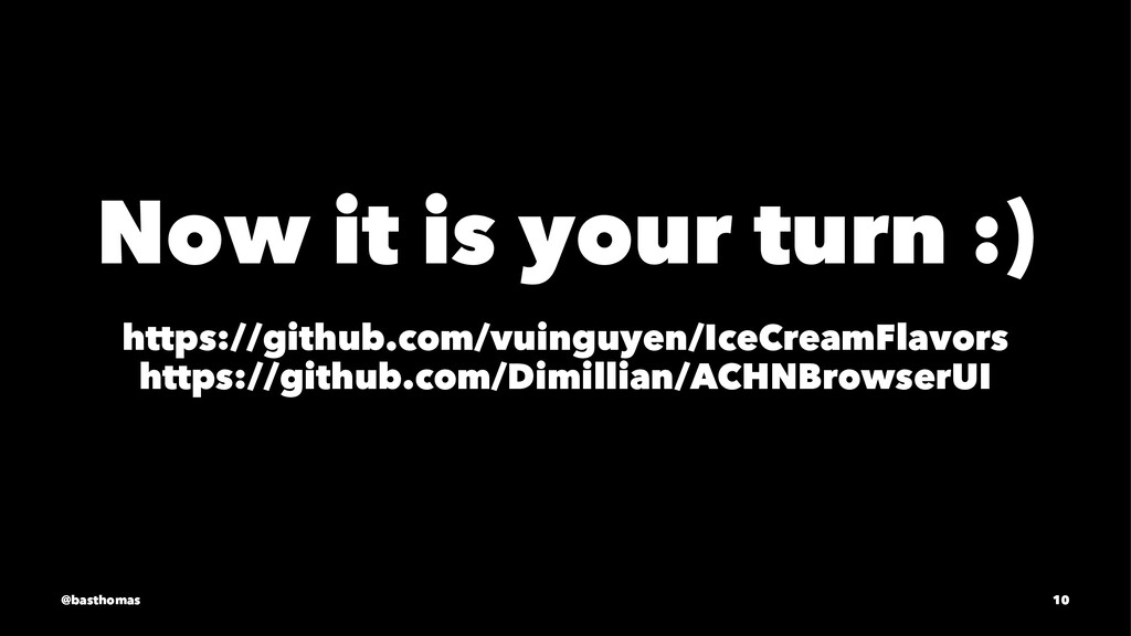 Now it is your turn :) https://github.com/vuing...