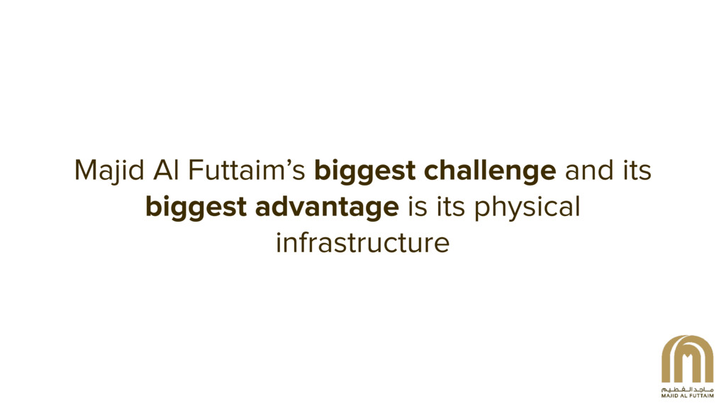 Majid Al Futtaim's biggest challenge and its  ...