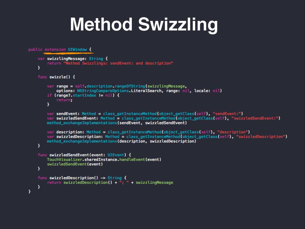 Method Swizzling