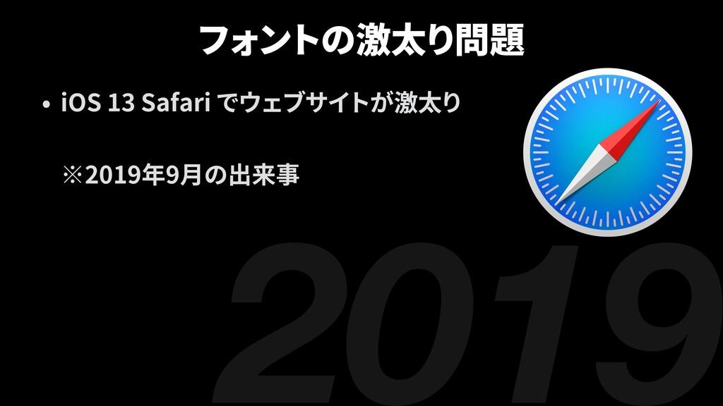 2019 iOS 13 Safari 2019 9