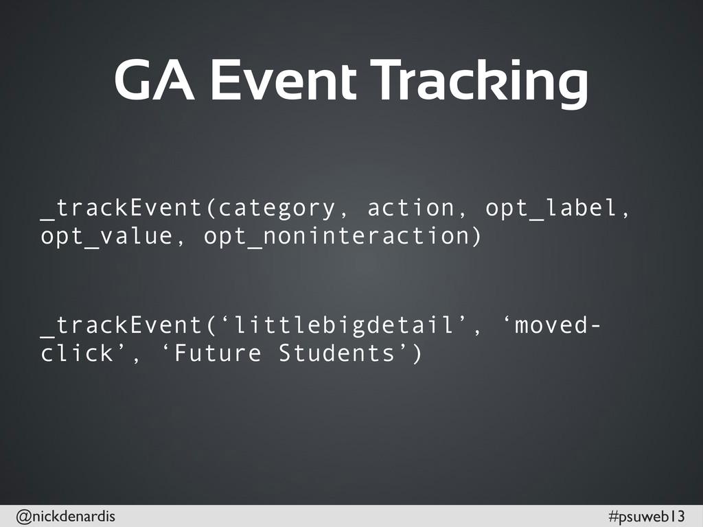 @nickdenardis #psuweb13 GA Event Tracking _trac...