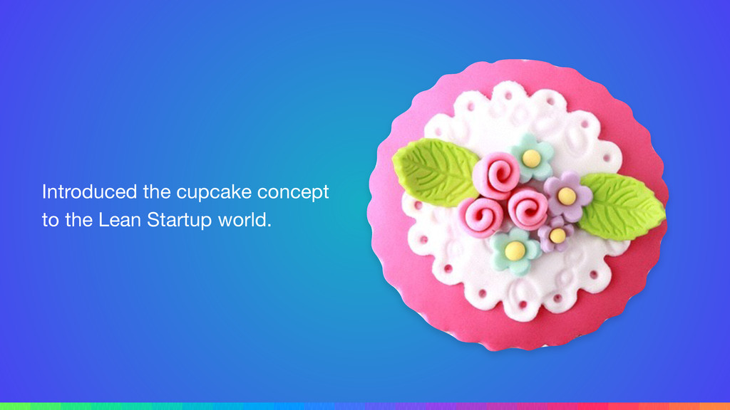 Introduced the cupcake concept to the Lean Star...