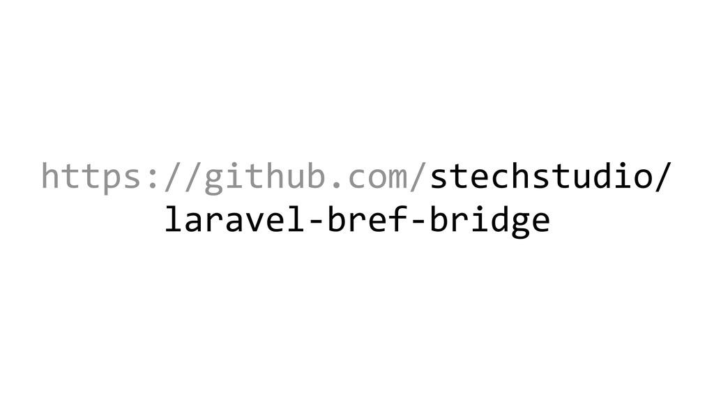 https://github.com/stechstudio/ laravel-bref-br...