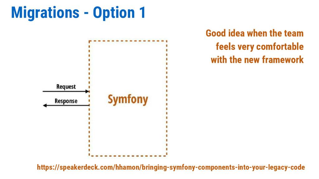 Migrations - Option 1 https://speakerdeck.com/h...