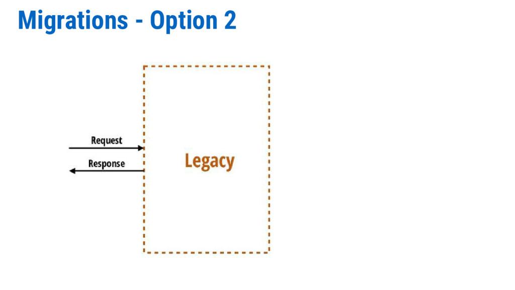 Migrations - Option 2