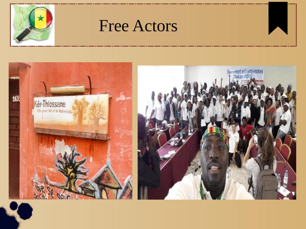 Free Actors