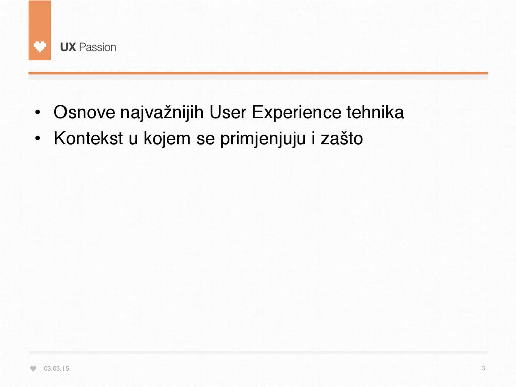 03.03.15 3 • Osnove najvažnijih User Experienc...