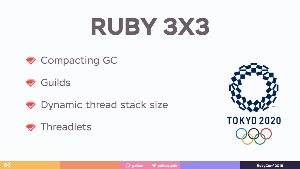 palkan_tula palkan RubyConf 2018 RUBY 3X3 66 Co...