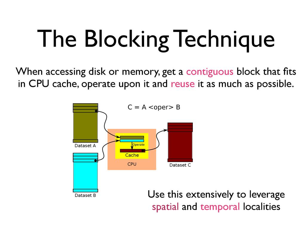 The Blocking Technique    ...