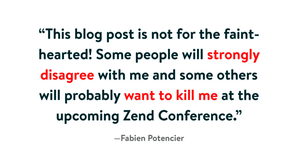 """""""This blog post is not for the faint- hearted! ..."""