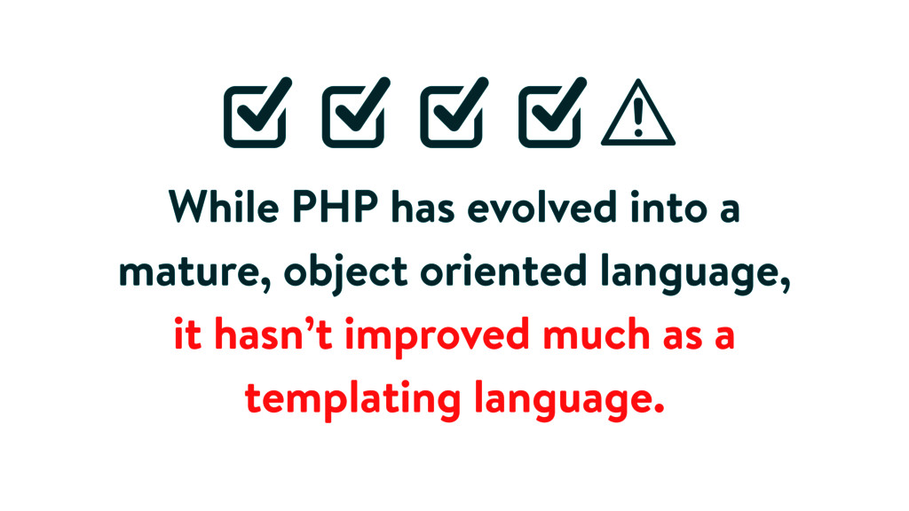 While PHP has evolved into a mature, object ori...