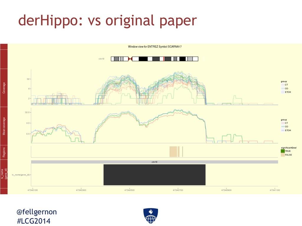 @fellgernon #LCG2014 derHippo: vs original paper