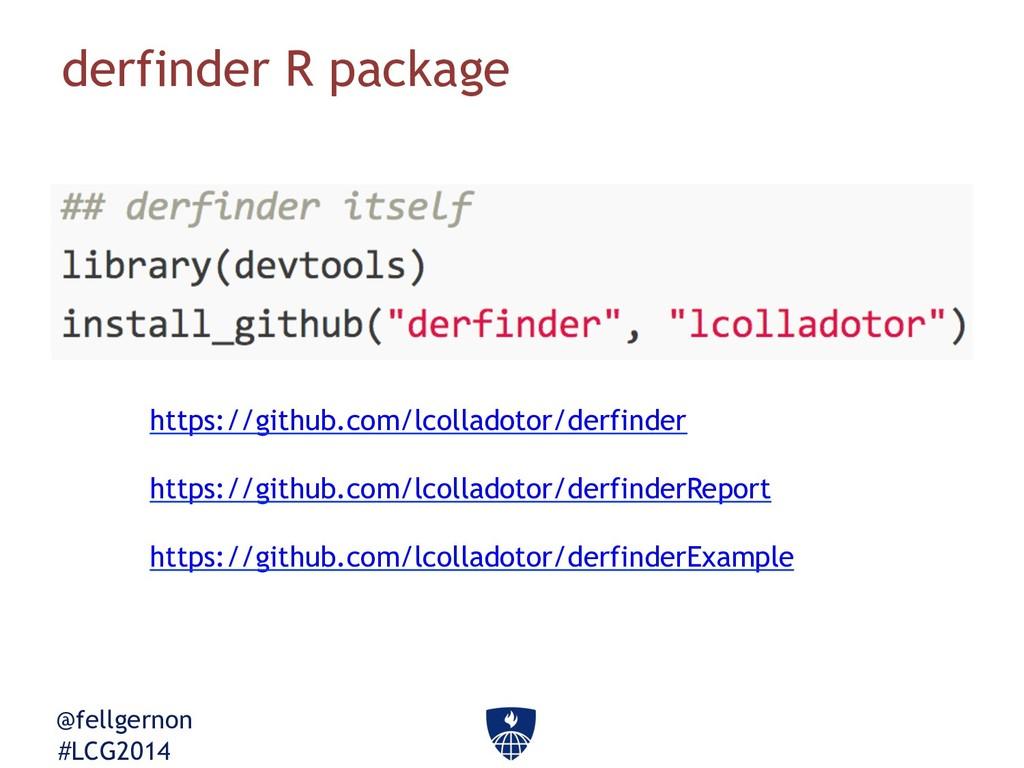 @fellgernon #LCG2014 derfinder R package https:...