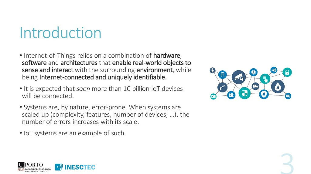 Introduction • Internet-of-Things relies on a c...