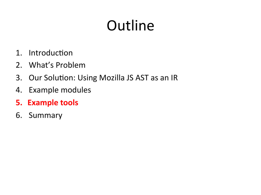 Outline 1. IntroducHon  2. What's Pro...
