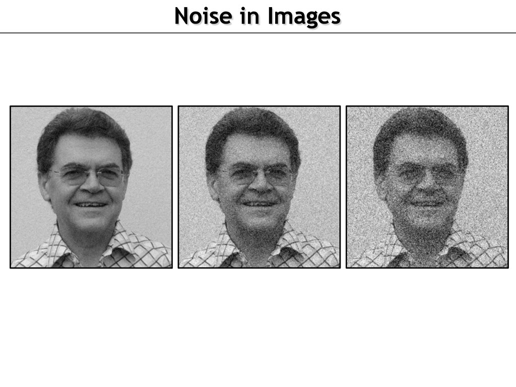 Noise in Images