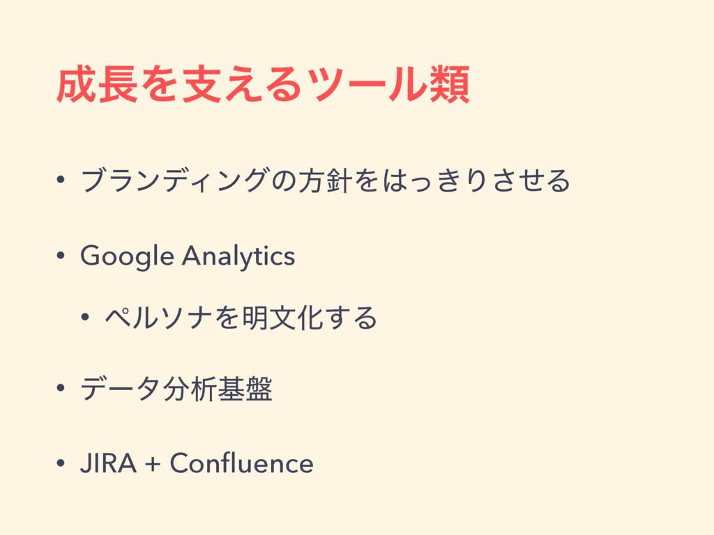 Λࢧ͑Δπʔϧྨ • ϒϥϯσΟϯάͷํΛ͖ͬΓͤ͞Δ • Google Analyt...