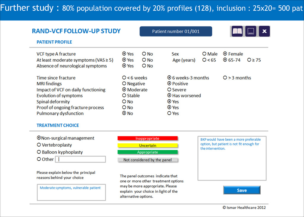 Further study : 80% population covered by 20% p...