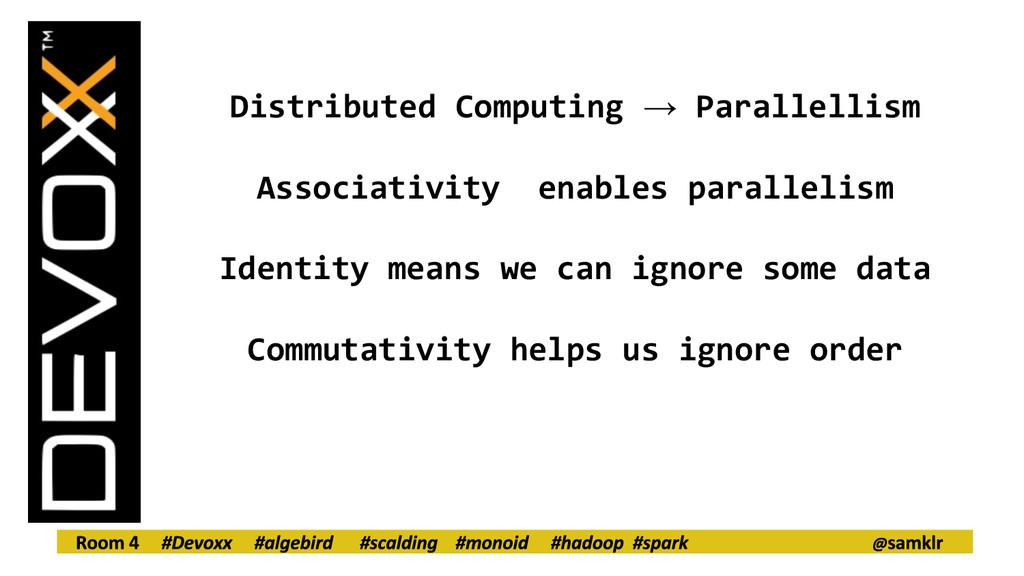 Distributed Computing → Parallellism Associativ...