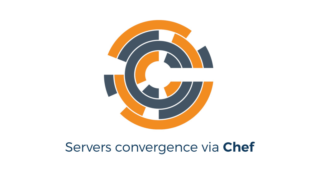 Servers convergence via Chef