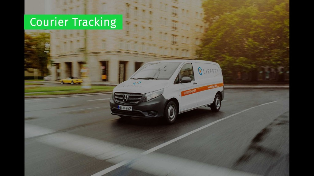 Courier Tracking