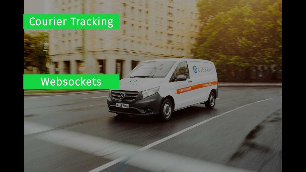 Courier Tracking Websockets
