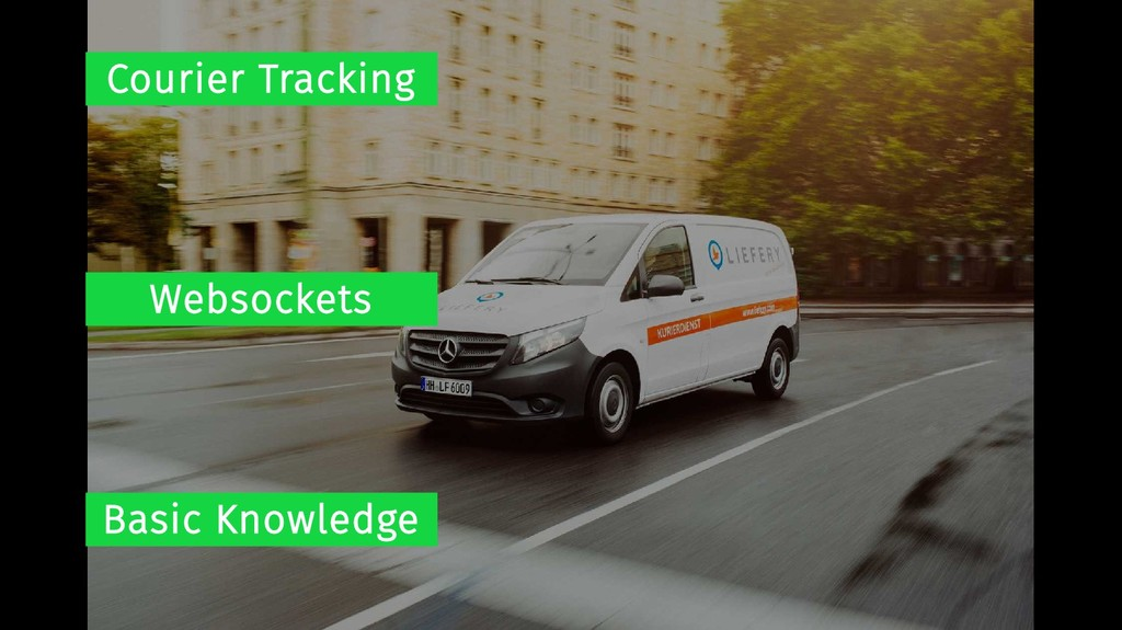 Courier Tracking Websockets Basic Knowledge