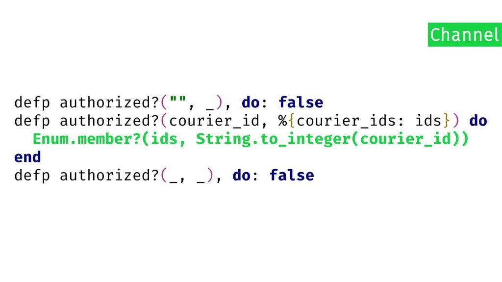 """defp authorized?("""""""", _), do: false defp authori..."""