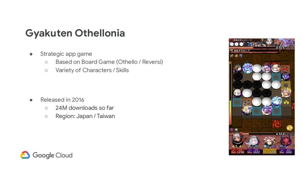 Gyakuten Othellonia ● Strategic app game ○ Base...
