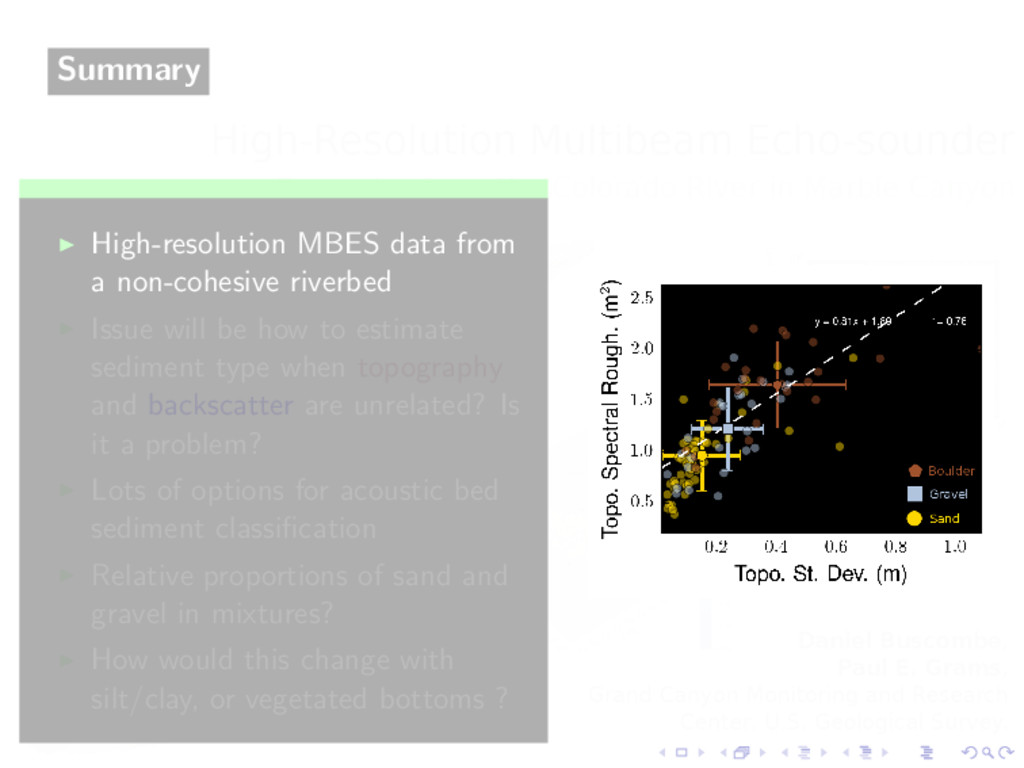 Summary High-resolution MBES data from a non-co...