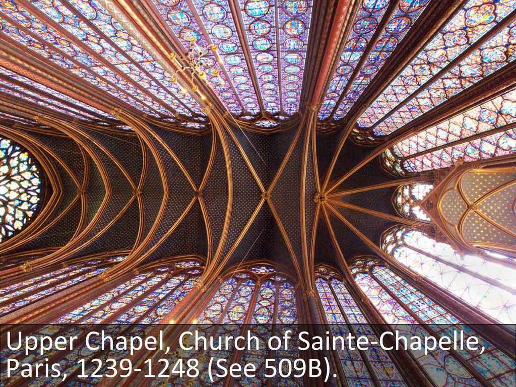 Upper Chapel, Church of Sainte-‐Ch...