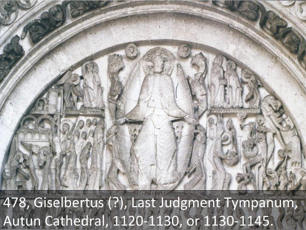 478, Giselbertus (?), Last Judgment...