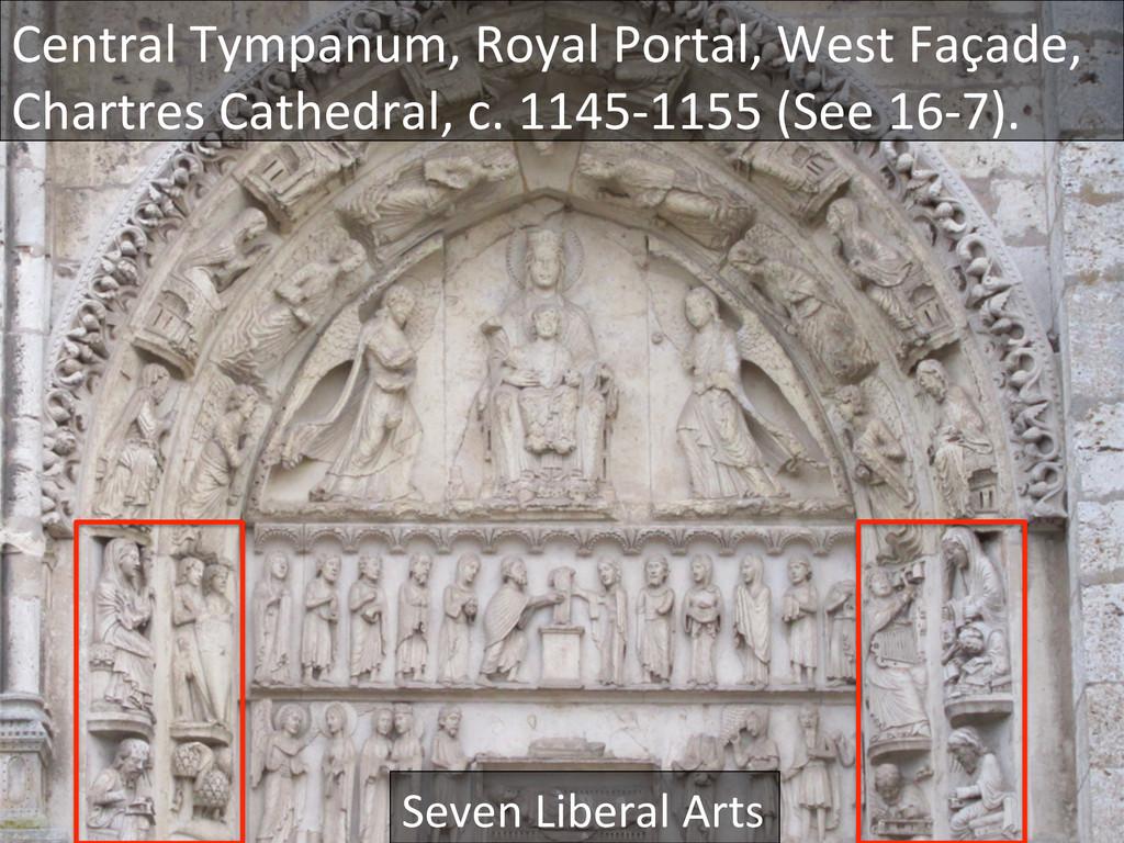 Central Tympanum, Royal Portal, Wes...