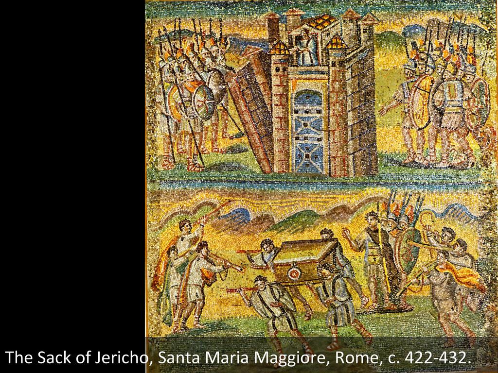 The Sack of Jericho, Santa Maria...