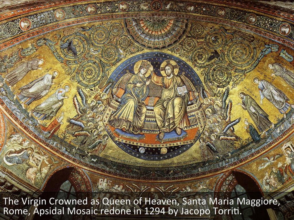 The Virgin Crowned as Queen of...