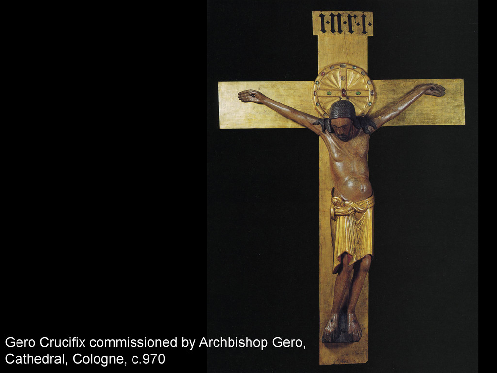 Gero Crucifix commissioned by Archbishop Gero, ...