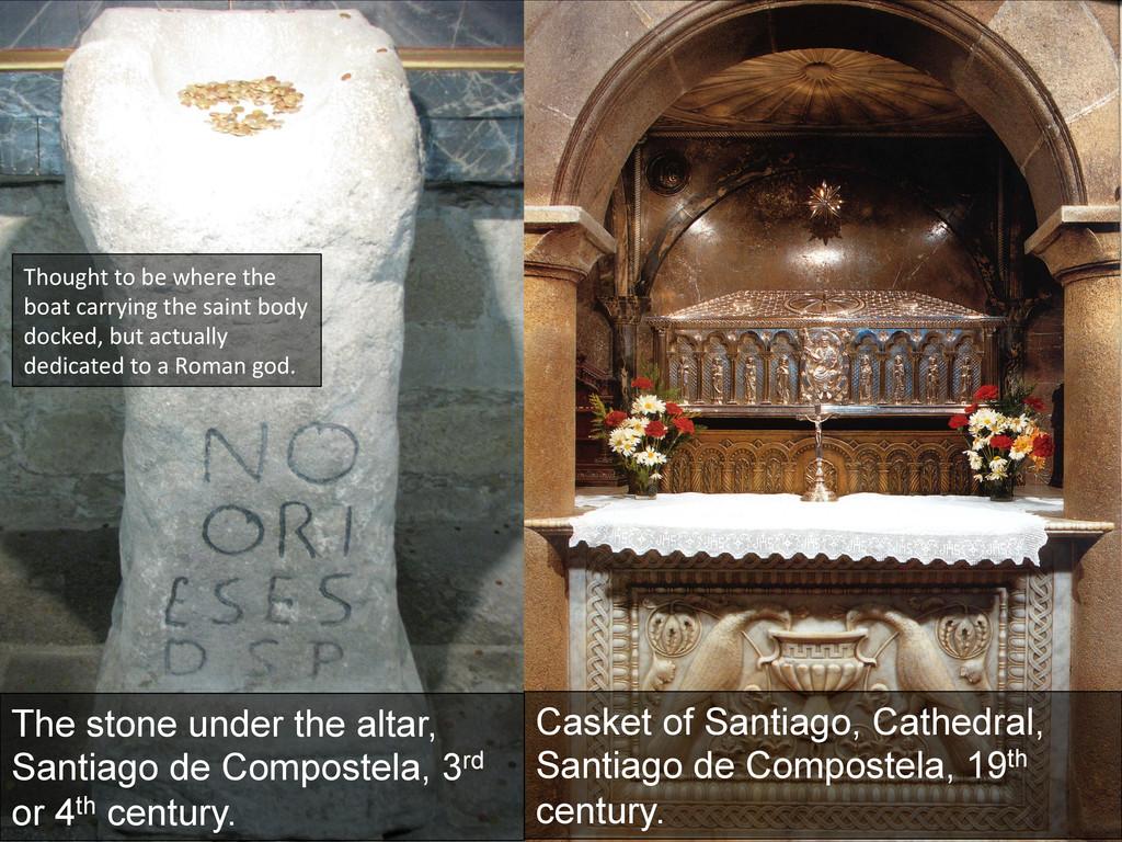 Casket of Santiago, Cathedral, Santiago de Comp...