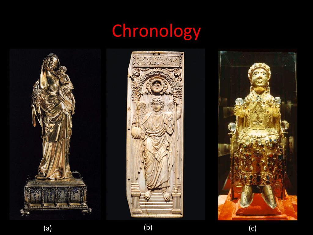 Chronology  (a)  (b)  (c)