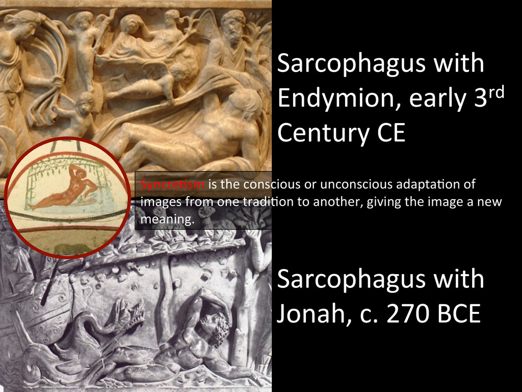 Sarcophagus with  Endymion, early 3...