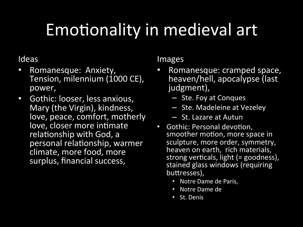 Emo3onality in medieval art  Ideas...
